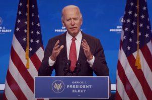 Joe Biden, presidente electo de los Estados Unidos. EFE