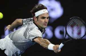 Roger Federer. Foto:EFE