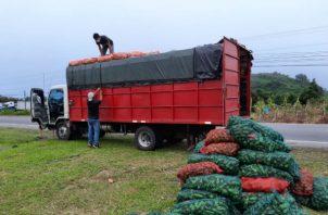 Durante fin de año se incrementa el consumo de cebolla, papa y otros rubros. Foto: José Vásquez.