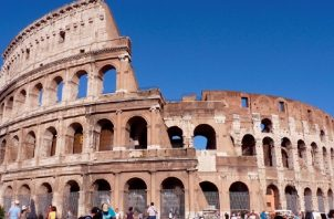 El Coliseo de Roma, una de las nuevas maravillas del mundo moderno. Foto: EFE