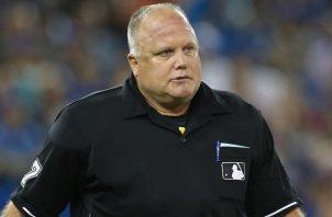 Brian O'Nora, árbitro de las Grandes Ligas. Foto: Tomada de foxnews.