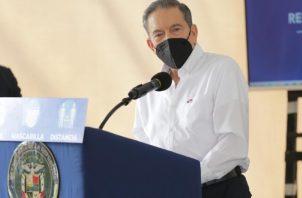 Laurentino Cortizo hace un llamado a la conciencia ciudadana.