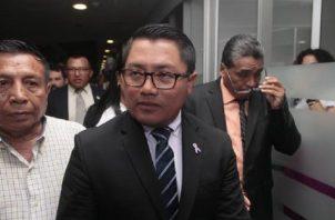 Arquesio Arias, diputado del Partido Revolucionario Democrático (PRD).