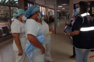 Desde hace 10 meses el personal sanitario del hospital regional Nicolás A. Solano, ha estado solicitando que se atiendan sus requerimientos básicos sin ser atendidos.