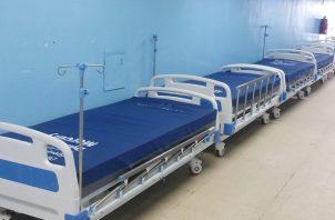 El Hospital Dr. Manuel A. Guerrero en Colón, tiene camas disponibles, según autoridades médicas. Diómedes Sánchez S.