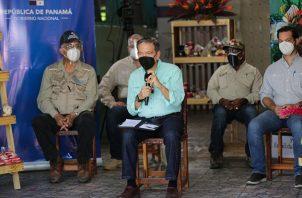 El presidente Laurentino Cortizo guardó cuarentena el pasado 2 de noviembre, luego que uno de sus escoltas contrajo COVID-19.