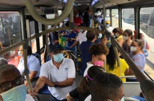 Mi Bus realiza más de 10 mil viajes bus diario para atender a más de 300 mil usuarios. Foto:Cortesía