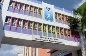 En el Hospital del Niño se han tomado medidas adicionales a las asumidas cuando comenzó la crisis.