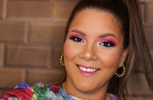 Melanie Marie Vargas Paz, maquillista profesional. Foto: Cortesía