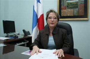 Magistrada María Eugenia López