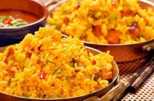 Se cocinarán 300 libras de arroz, 250 libras de pollo y 300 libras de vegetales. Foto: Cortesía
