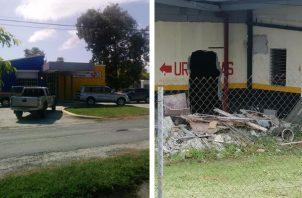 Centro de Salud de Bejuco. Foto: Cortesía