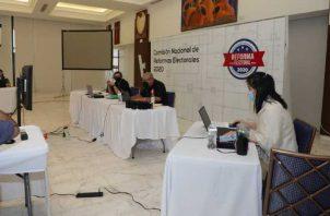 La Comisión de Reformas Electorales se reúne los jueves. Foto de archivo