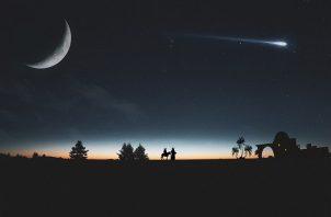 El fenómeno consiste en la conjunción que los planetas Júpiter y Saturno. Foto: Ilustrativa / Pixabay