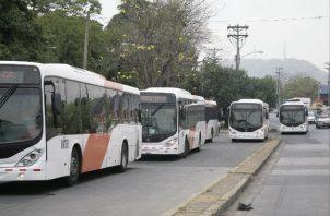 Servicio de transporte público ajusta horarios.