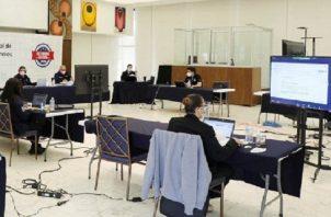 La Comisión Nacional de Reformas Electorales realiza sus encuentros en forma virtual. Para hoy, está convocada a las 9:00 a.m. Foto de cortesía