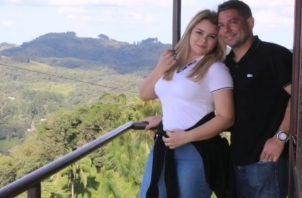 Margarita Henríquez y Jorge Luis Bustavino. Instagram