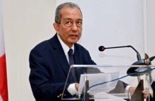 Enrique Mendoza, decano de la Facultad de Medicina de la Universidad de Panamá.