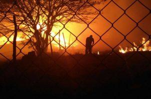 Estadísticas de la Sección de Verificación del Desempeño Ambiental indica que el año concluye con 417.7 hectáreas afectadas por el fuego.