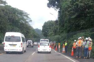 se suspenderá el tráfico por esta vía durante 20 minutos, entre las 12:00 p.m. y 2:00 p.m.