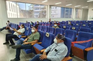 Un total de 220 especialistas cubanos llegaron a Panamá la mañana del 24 de diciembre para reforzar el sistema de salud.