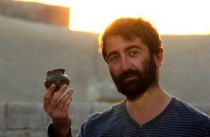 El arqueólogo francés François Desset trabaja actualmente en la Universidad de Teherán.