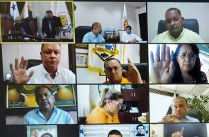 Acuerdo Municipal se aprobóen medio de sesión virtual.