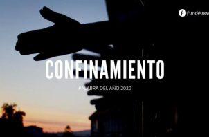 Palabra del año 2020 de la Fundación del Español Urgente (FundéuRAE). EFE