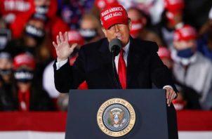 Donald Trump, presidente de Estados Unidos. EFE