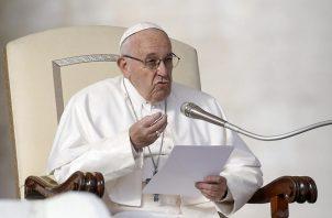El papa Francisco se pronunció en su cuenta de Twitter. Foto: EFE