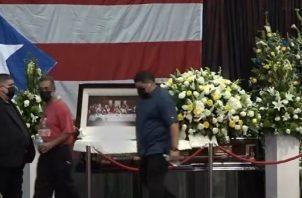 Tito Rojas falleció el 26 de diciembre. Foto: Video / El Nuevo Día