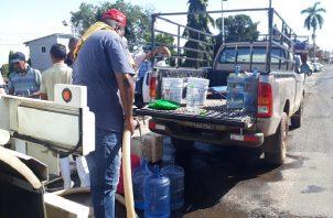 Las autoridades le solicitan a la ciudadanía que hagan un buen uso del agua potable en medio de la pandemia.