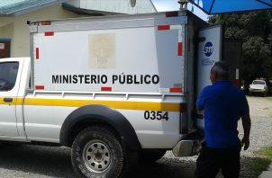 El cuerpo del ciudadano fue encontrado colgado cerca de la vivienda donde residía. Foto: Mayra Madrid