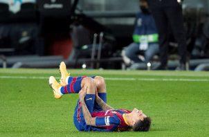 Coutinho sufrió la lesión en el último partido del 2020.