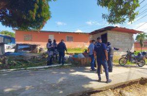 La Policía Nacional se trasladó al lugar para tratar de capturar a los pistoleros en varios sectores de Puerto Escondido.