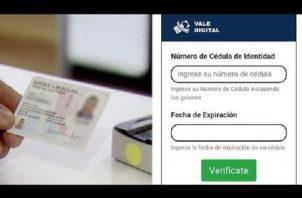 El Vale Digital es una de las ayudas que ofrece el Gobierno Nacional a través del Programa Panamá Solidario para ciudadanos afectados por la pandemia de la covid-19.