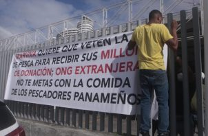 Protestaron la semana pasada para que no se vetara el proyecto. Foto de archivo
