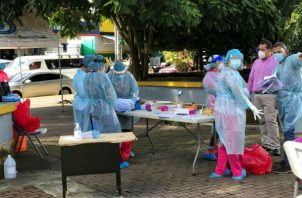 Las pruebas se realizan de forma gratuita todos los días. Foto: José Vásquez.