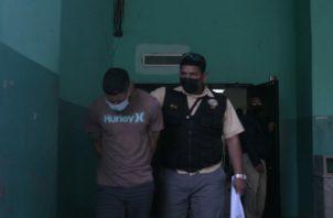 En ambas audiencias se logró la detención provisional de Jafeth Canell. Foto: Víctor Arosemena