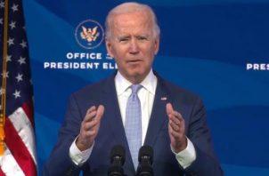 Joe Biden, presidente electo de Estados Unidos. EFE