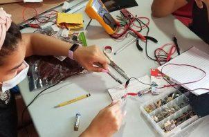 Los jóvenes presentarán diversos proyectos. Foto: Cortesía