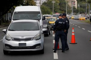 En Panamá rigió hoy una cuarentena total, como medida para frenar los contagios de coronavirus. Foto: EFE
