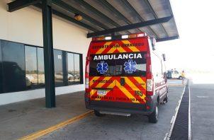 """El joven fue llevado en estado delicado al hospital regional Luis """"Chicho"""" Fábrega de Veraguas."""