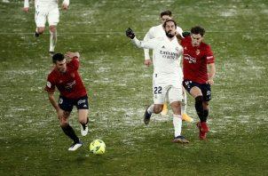 Real Madrid empató 0-0 con el Osasuna.
