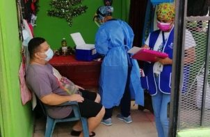 El Equipo Unificado de Trazabilidad continua realizando los hisopados en diferentes corregimientos del Distrito de San Miguelito.