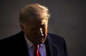 """YouTube detalló que la decisión contra Donald Trump se adoptó """"a la luz de las preocupaciones sobre el potencial continuo de violencia"""". Foto: EFE"""
