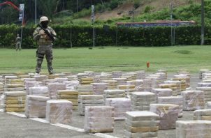 Durante los últimos años, Panamá se ha convertido en un punto importante para el decomiso de drogas. Archivo.