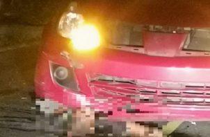 El atropello se registró aproximadamente a las 8:00 de la noche en la vía principal de Nuevo Chorrillo, confirmaron las autoridades. Foto: Eric A. Montenegro