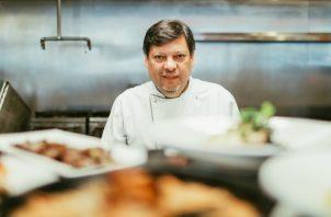 El 'chef' Edgar Leal. Foto: Cortesía