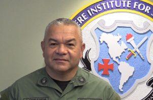Jorge Miranda, director de la Policía Nacional de Panamá quien será reemplazado del cargo en los próximos días.